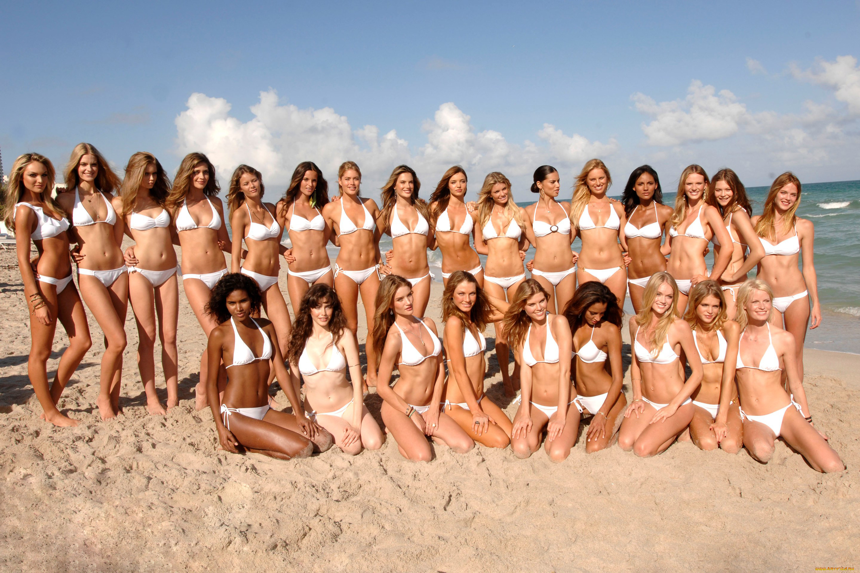 Nudist girl group